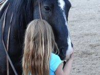 koń, dziecko